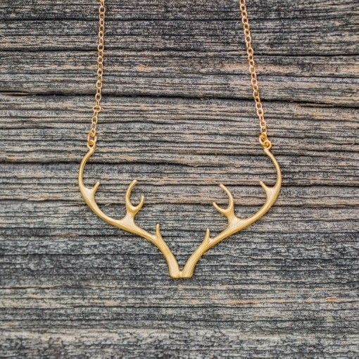 The Birch Store Antler Necklace
