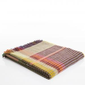 The Birch Store Lambswool Basketweave Throw