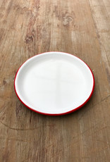 The Birch Store Red Rim Enamelware Sauce Dish