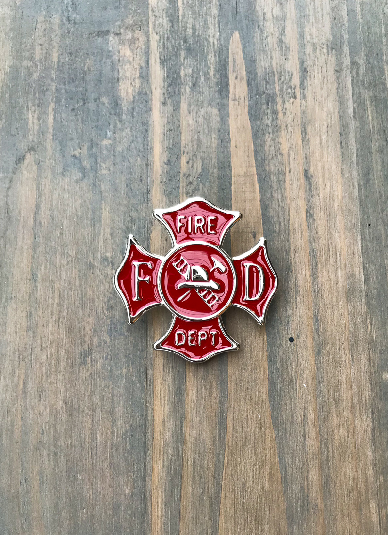 The Birch Store Toy Firefighter Badge