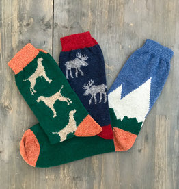 The Birch Store Men's Lambswool Socks