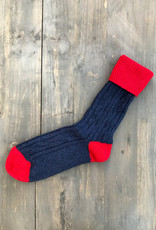 The Birch Store Cashmere Cable Slouch Socks