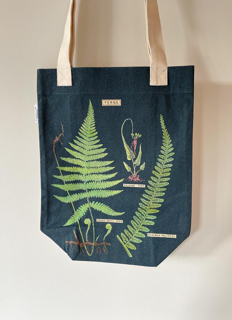 The Birch Store Vintage Print Tote Bag