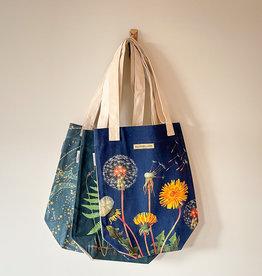 Cavallini Vintage Print Tote Bag
