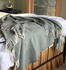 The Birch Store Herringbone Throw