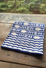 The Birch Store Blue Fish Cotton Tablecloths