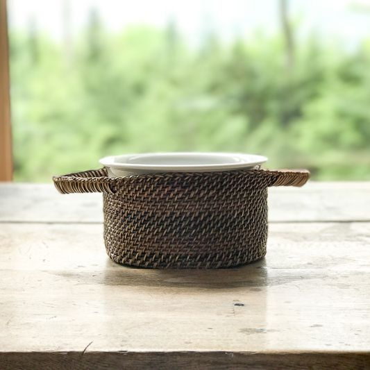 The Birch Store Small Souffle with Basket