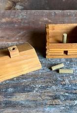 The Birch Store Log Cabin Incense Burner