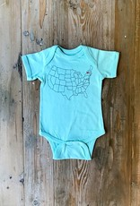 The Birch Store Adirondack Love Onesie