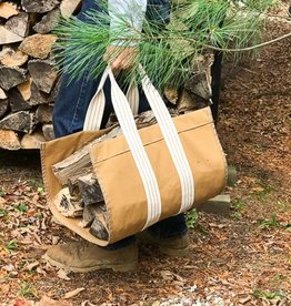 The Birch Store Canvas Logger Tote