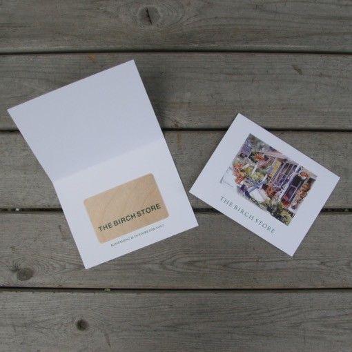$100 Birch Bucks Gift Card