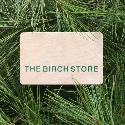 The Birch Store $25 Birch Bucks Gift Card