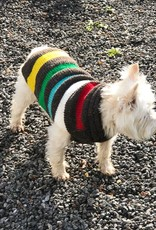 The Birch Store Charcoal Blanket Stripe Dog Sweater