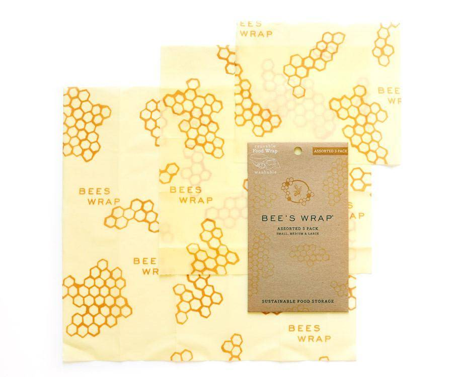 The Birch Store Bees Wrap Set of 3
