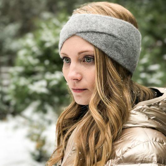 The Birch Store Cashmere Crossover Headband