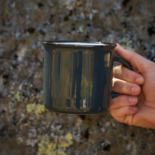 """The Birch Store """"Tinware"""" Mug"""