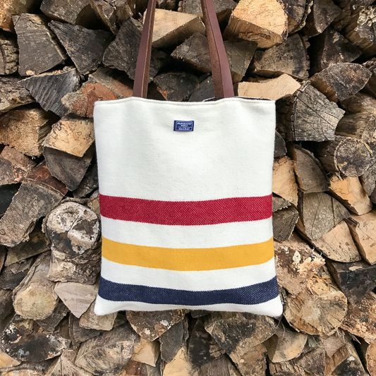 The Birch Store Unstructured Wool Tote