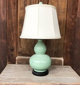The Birch Store Celadon Gourd Lamp