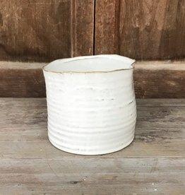 HomArt Wide Cream Vase