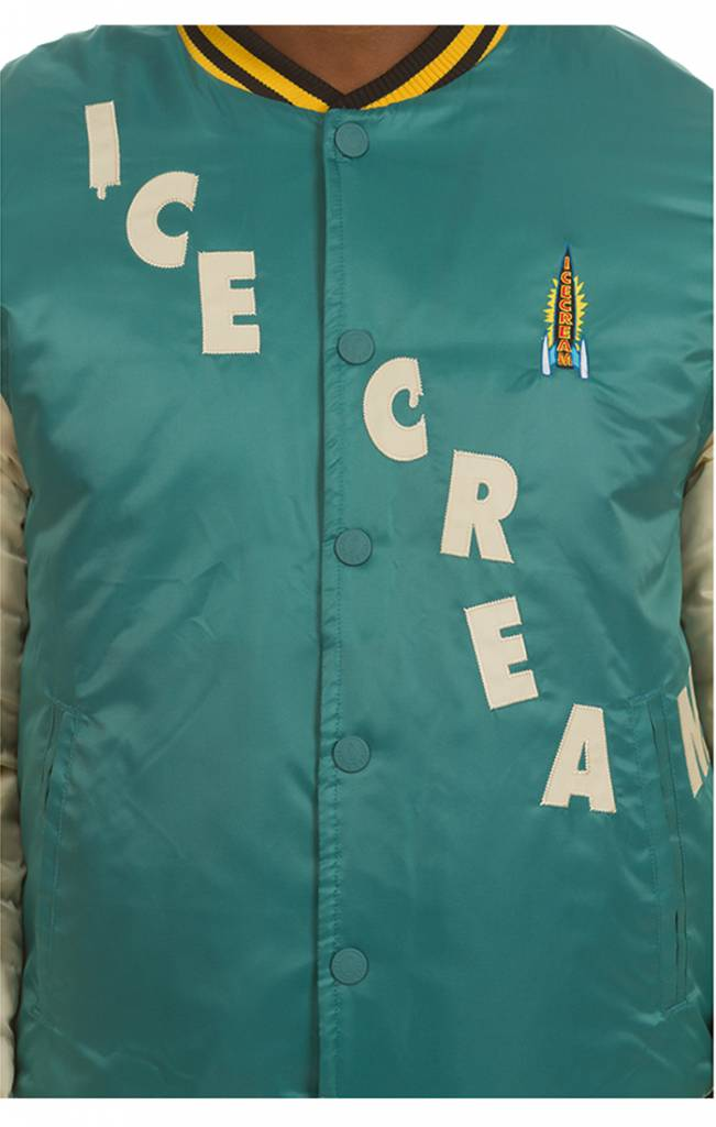 Ice Cream Ice Cream Retro Varsity Jacket