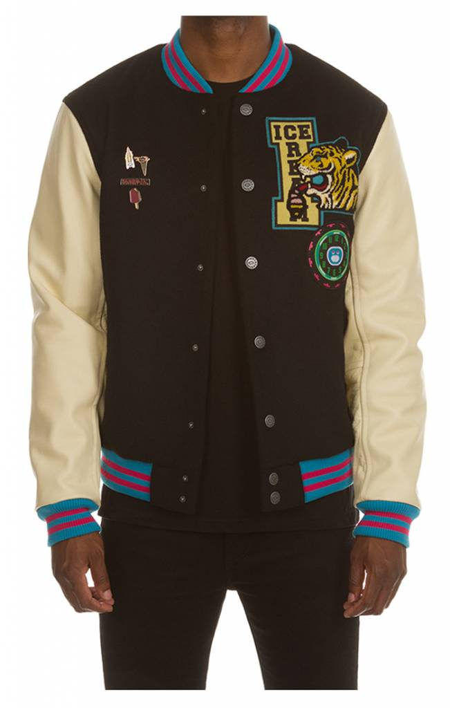 Ice Cream Ice Cream Dipped Varsity Jacket
