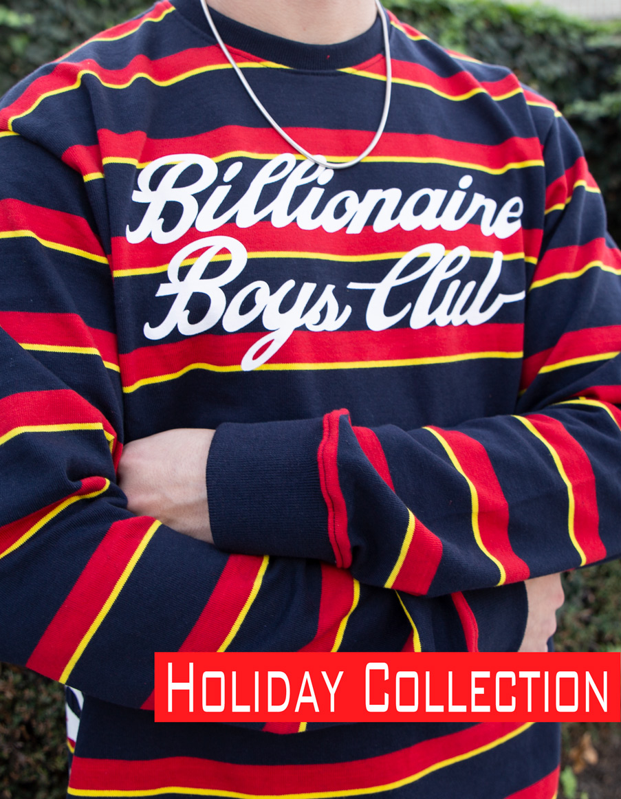 Billionaire Boys Club Holiday Collection