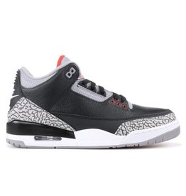 "Jordan Retro 3 ""Black Cement"""