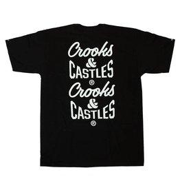 Crooks & Castles Crooks & Castles Reverse Core Tee