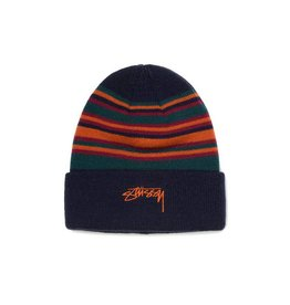 Stussy Stussy Multi Color Striped Cuff Beanie