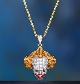 Aporro Iced Out Clown Chain