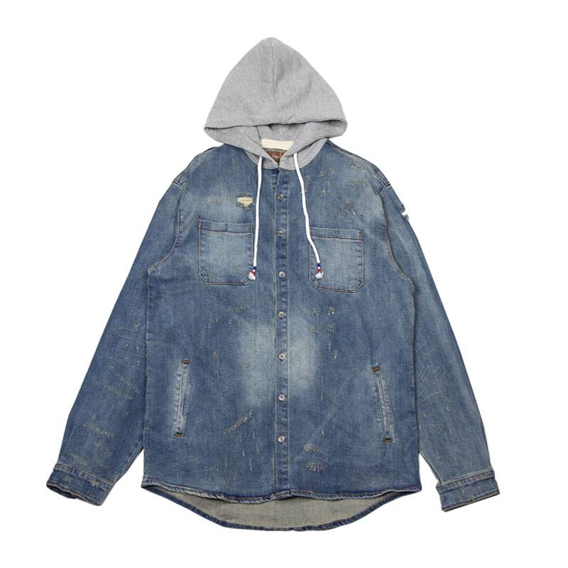 Crysp Denim Crysp Denim Walsh Hooded Jacket