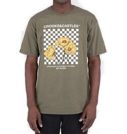 Crooks & Castles Crooks & Castles Poppy Checkered Tee
