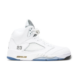 "Jordan Jordan Retro 5 ""White Metallic"""