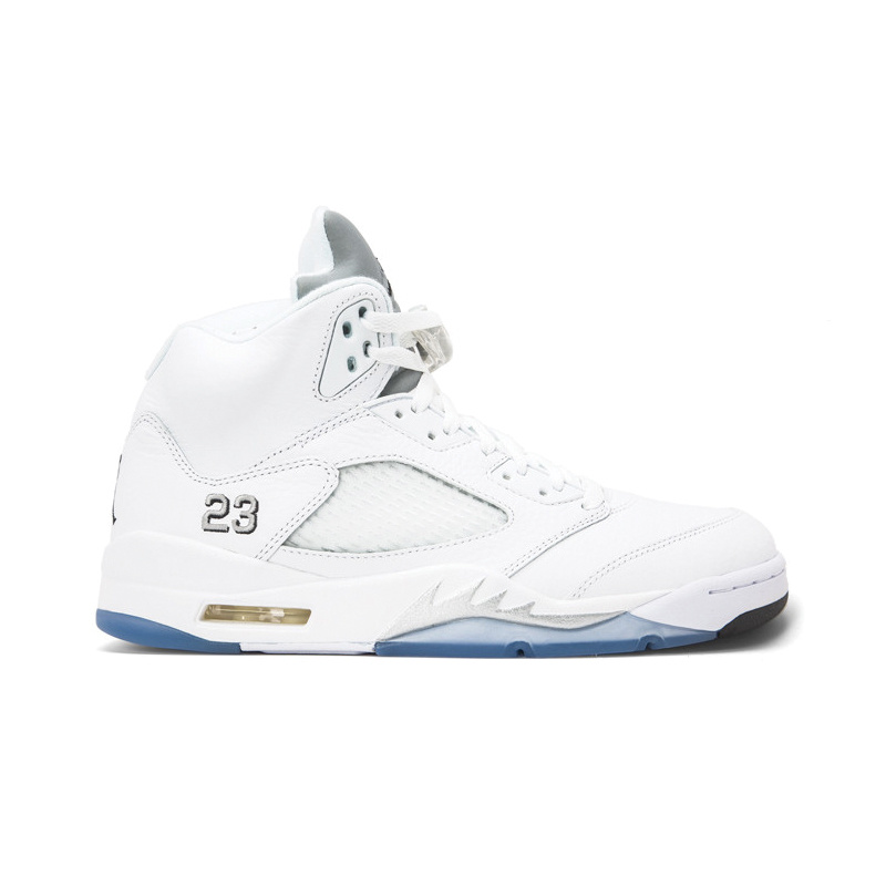 "Jordan Jordan Retro 5 ""White Metallic"""
