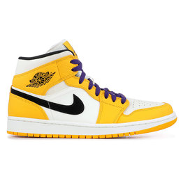 "Jordan Jordan Retro 1 Mid ""Lakers"""