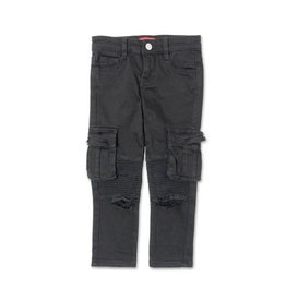 Haus Of Jr Clayton Cargo Biker Denim