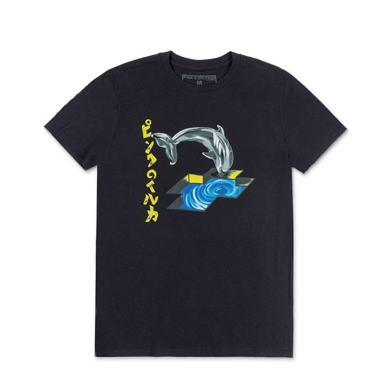 Pink Dolphin Foil Dolphin Tee