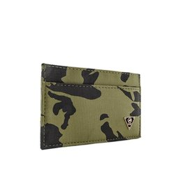 Mint Camo Nylon Ultra Slim Wallet