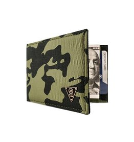 Mint Mint Camo Nylon Money Clip