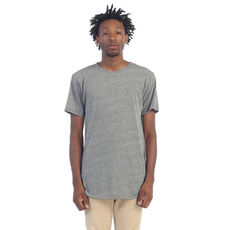 Epitome Elong Tee Side Zip