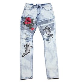 Embellish NYC Embellish Walker Biker Denim