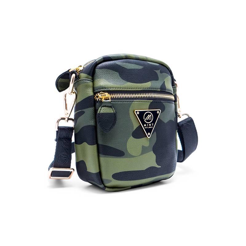 Mint Mint Leather Crossbody Bag