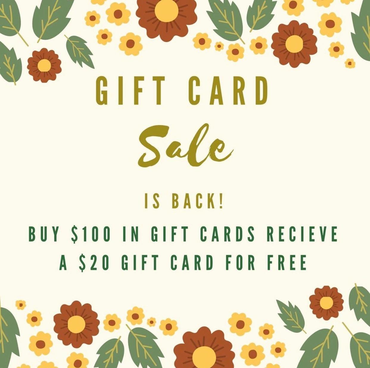 Tutu Tutu $100 Gift Card