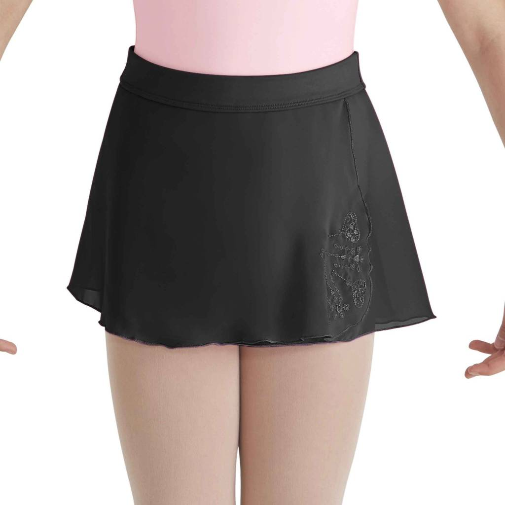 Bloch BL CR5741 Mock Wrap Skirt