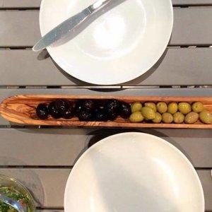 Bois oliviers SLO Bateau Olive Moyen