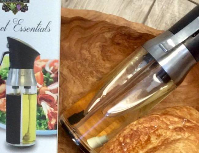 Sous les oliviers Vaporisateur huilet et vinaigre Goumet 2 in 1