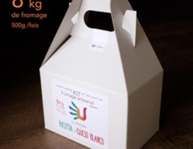 kits de fromage artisanal maison Ricotta et Queso blanco
