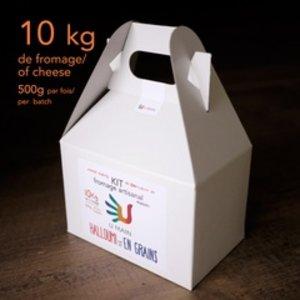 kits de fromage artisanal maison Halloumi et en grains