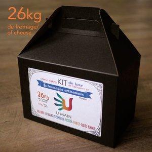 kits de 6 fromages DE LUXE artisanal maison