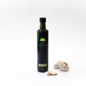 Sous les oliviers Huile d'olive extra vierge ail et champignons